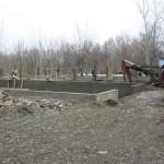 Начало строительства теплицы