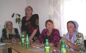 Инициативная группа на тренинге в ИКЦ Ганчи