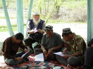 Тренинг по агрономии в дж. Сурх